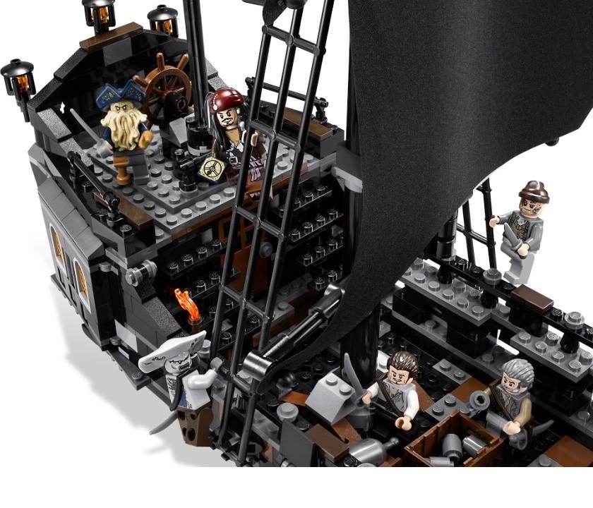 Купить Конструктор Чёрная жемчужина / Корабли 840 деталей (Ships 39009) - цены