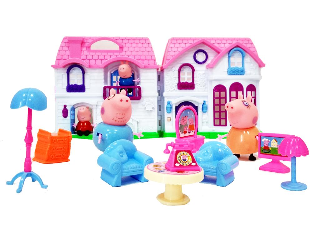 игры для девочек кукольный домик свинка пеппа бесплатно