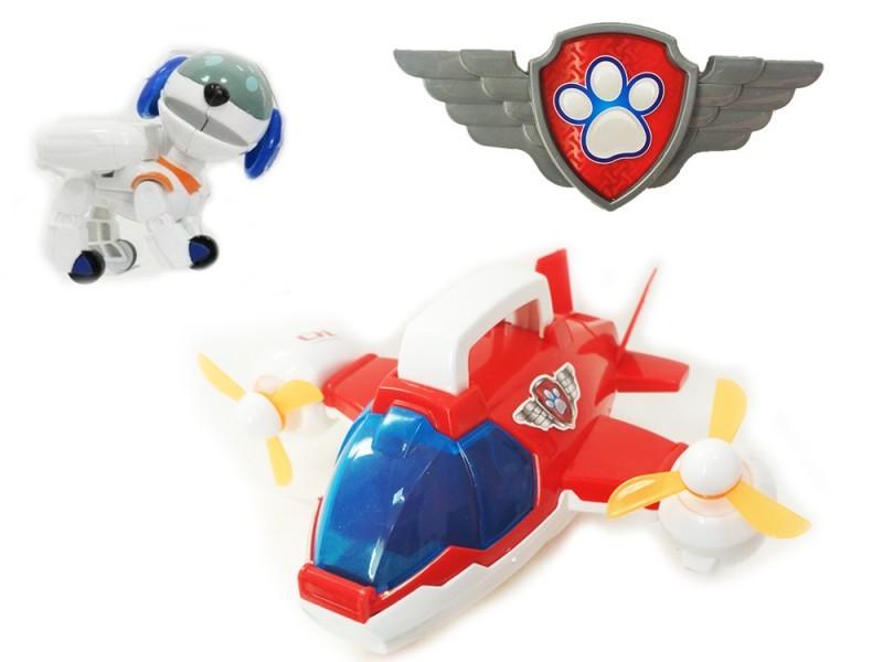 Самолет спасателей и фигурка Робопеса (Щенячий патруль)