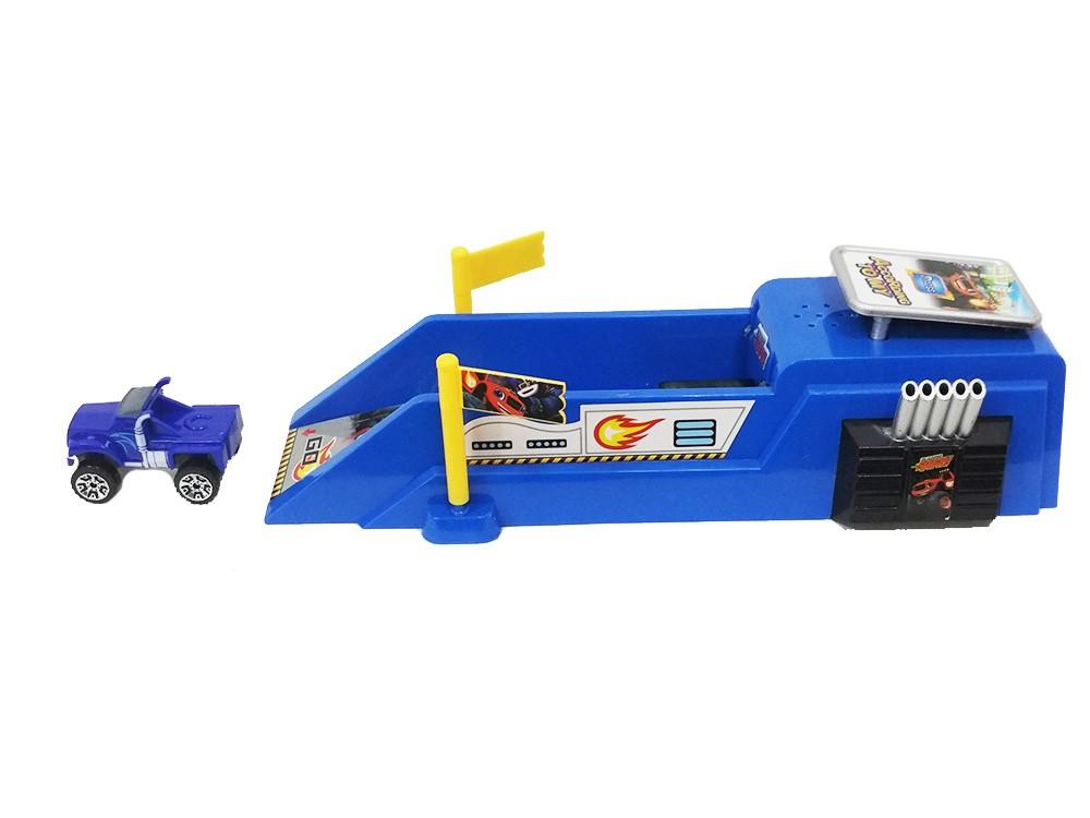Игровой набор Скоростной трамплин Крушилы (Вспыш и Чудо-машинки)