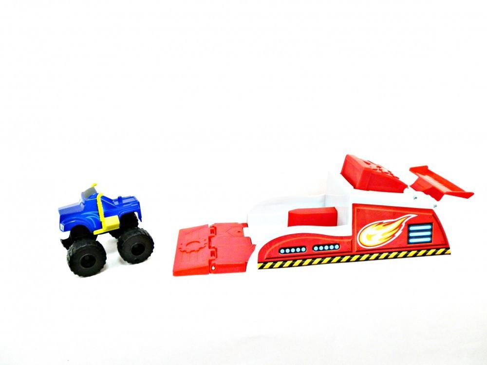 Игровой набор Пусковая установка Крушилы (Вспыш и Чудо-машинки)