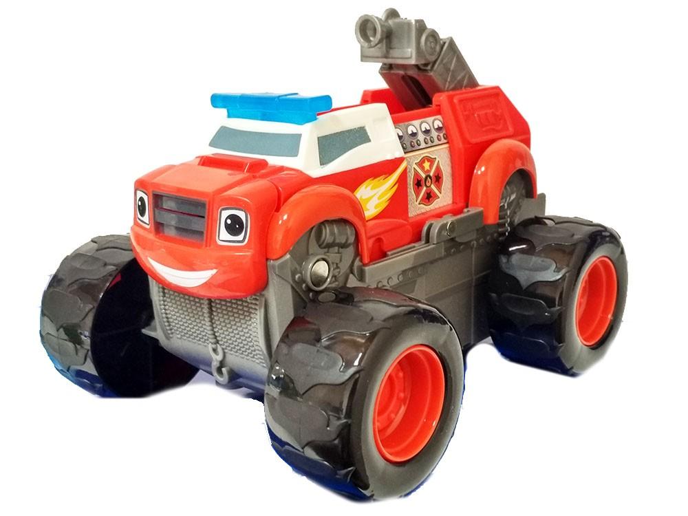 Машинка-трансформер Вспыш-Пожарник 18 см (Вспыш и Чудо-машинки)
