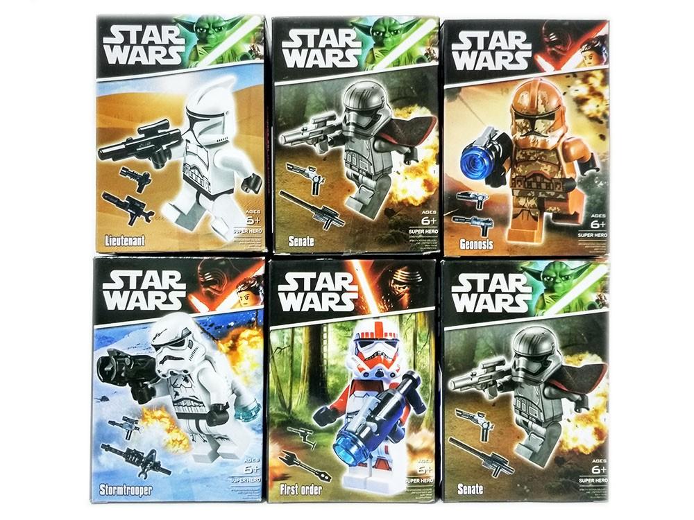 Набор 6 фигурок штурмовиков (Звездные войны YD-7)