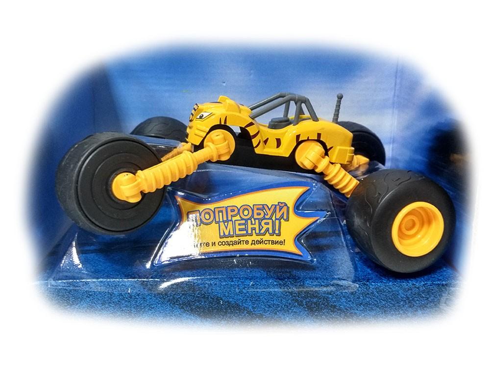 Машинка Рык с раздвижными колесами 18 см (Вспыш и Чудо-машинки)
