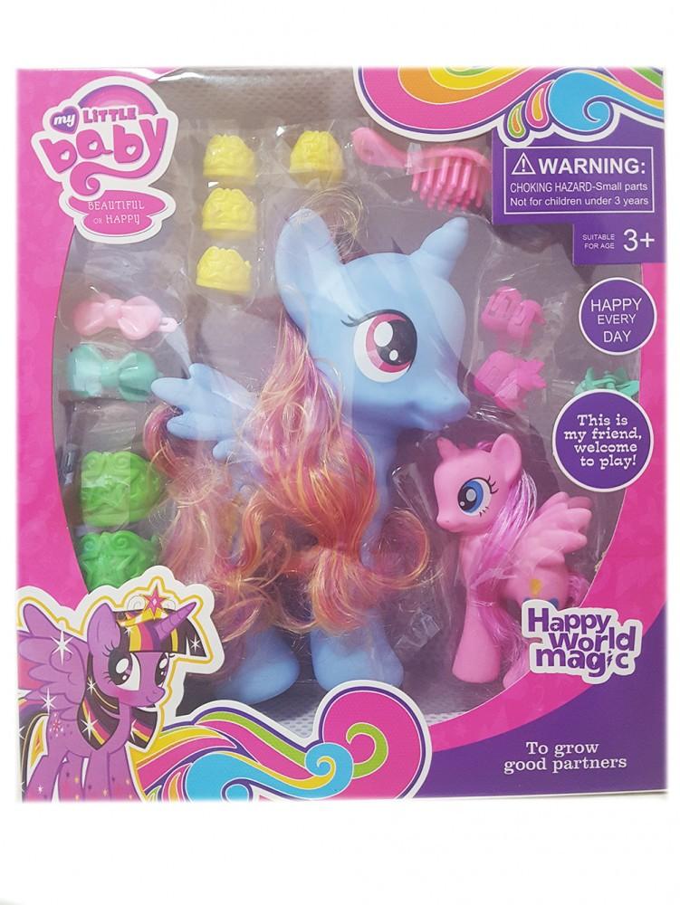 К�пи�� �ад�га д�� пони 20 �м и ак�е���а�� my little pony