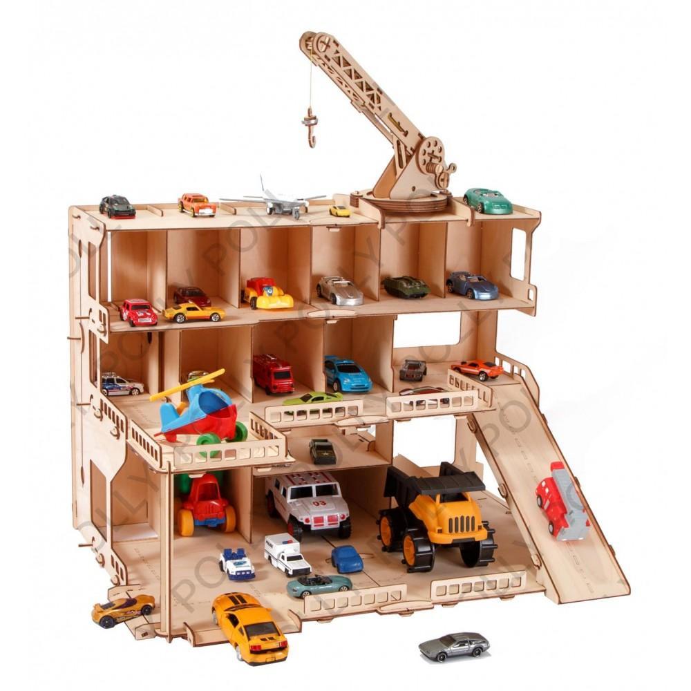 Деревянный конструктор мега парк